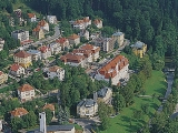 Lazne Luhacovice, Kurort Luhacovice, Kur Stadt