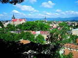 Lazne Teplice Czech Republic - view ower the city