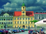 Lazne Teplice Czech Republic historical  City centre