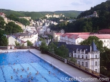 Thermal hotel pool